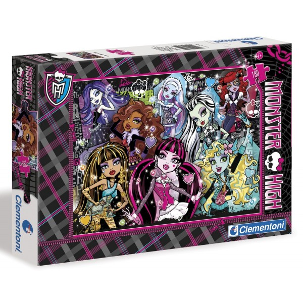 Clementoni dėlionė 180 d. SL Monster High